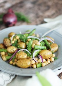 Rezept Spargel Salat mit Kartoffeln Saisonal Kochen 3