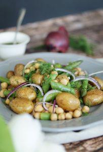 Rezept Spargel Salat mit Kartoffeln Saisonal Kochen 5