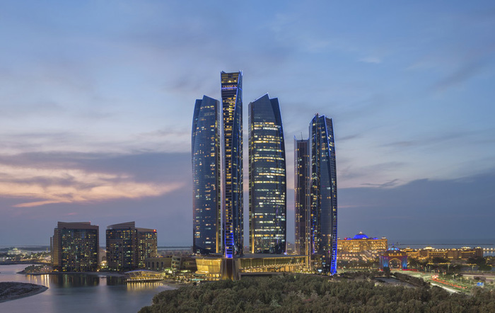 Jumeirah_at_Etihad_Towers_-_Evening_Tower_Shot