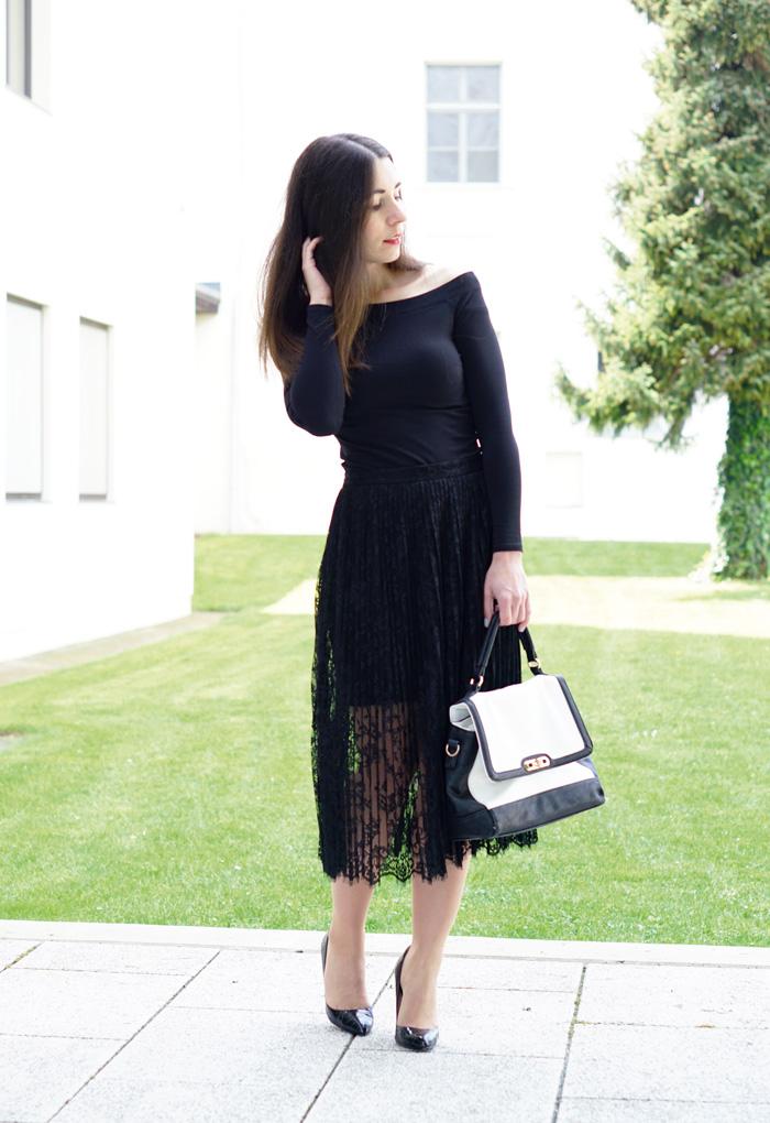 Outfit Fashionblog Oesterreich Spitzenrock 6