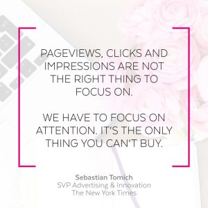 Blogging Tipps Focus on attention