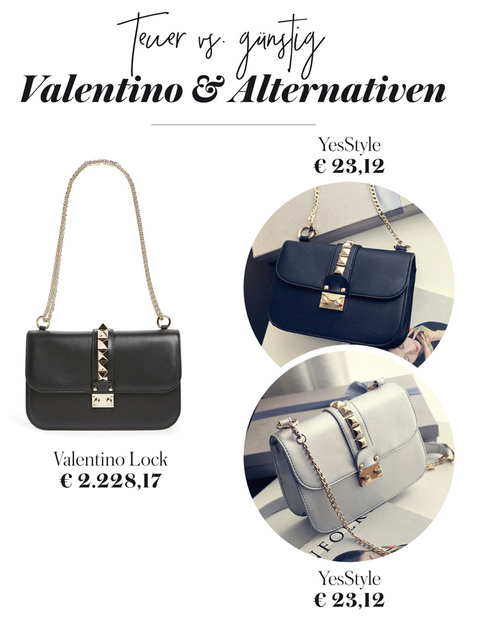 Valentino Rock Stud Bag Lookalike 2