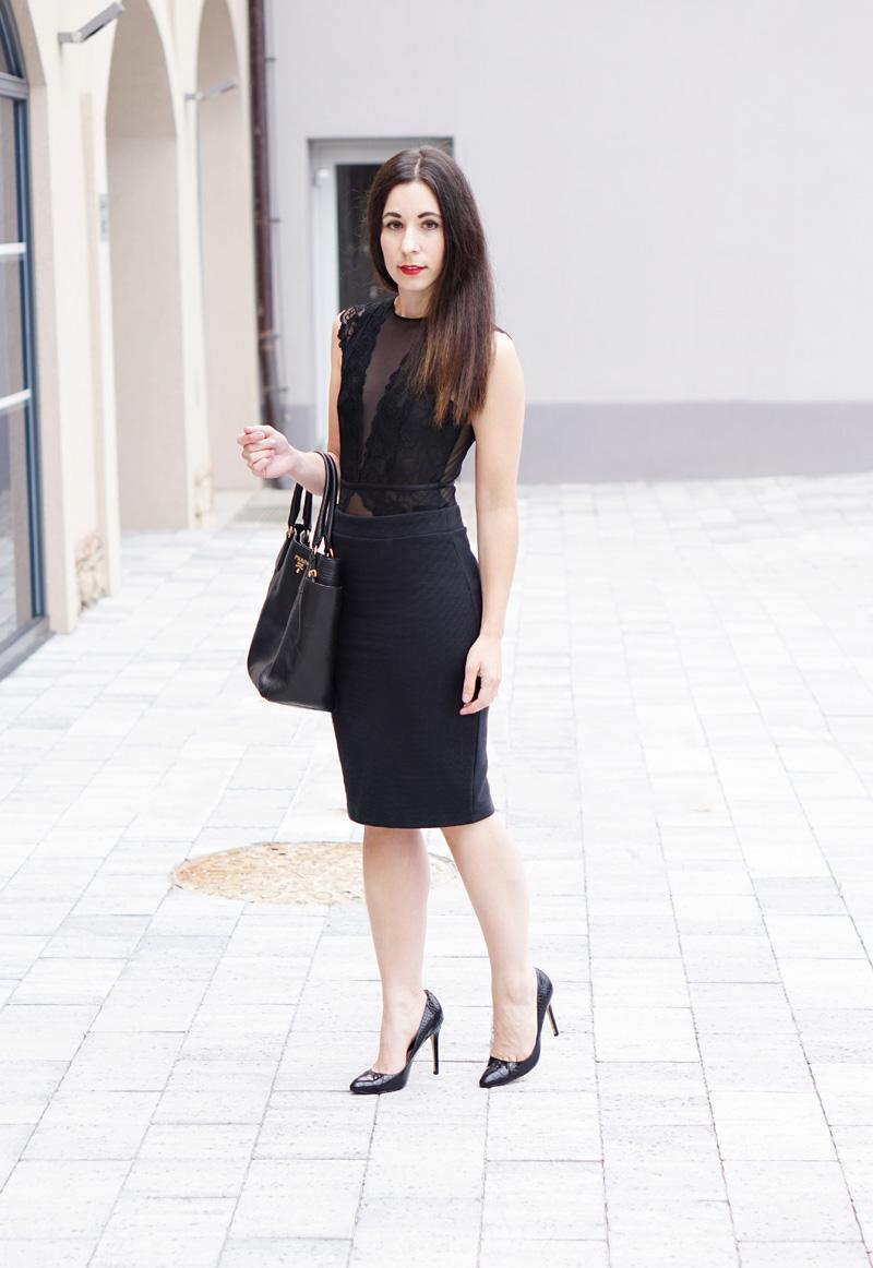 Lingerie Look im Alltag Fashionblog Oesterreich 5