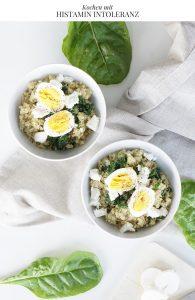 Lunch Bowl Quinoa Bowl Mangold Ziegenkaese Ei Saisonal Kochen
