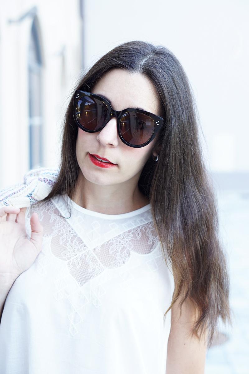 Outfit Modeblog Oesterreich Tweedjacke Promod 2