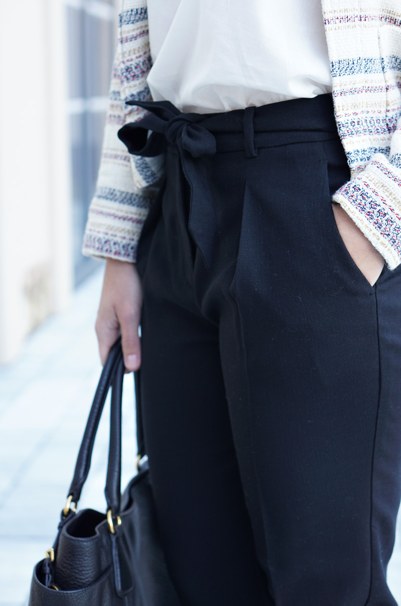 Outfit Modeblog Oesterreich Tweedjacke Promod 4