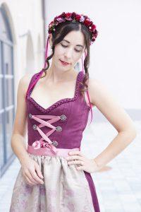 dirndl outfit we are flowergirls flowercrown mymirrorworld 1