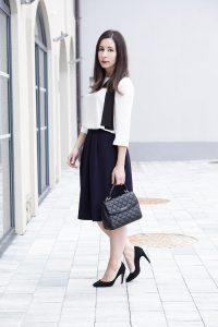 Business Basics Faltenrock Outfit My Mirror World 3