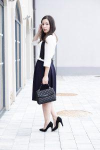 Business Basics Faltenrock Outfit My Mirror World 4