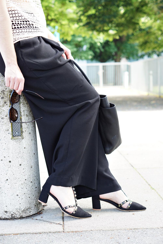 Outfit Häkelshirt Hosenrock 3