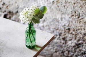 kleine Blumenvasen upcycling diy lemonaid 5