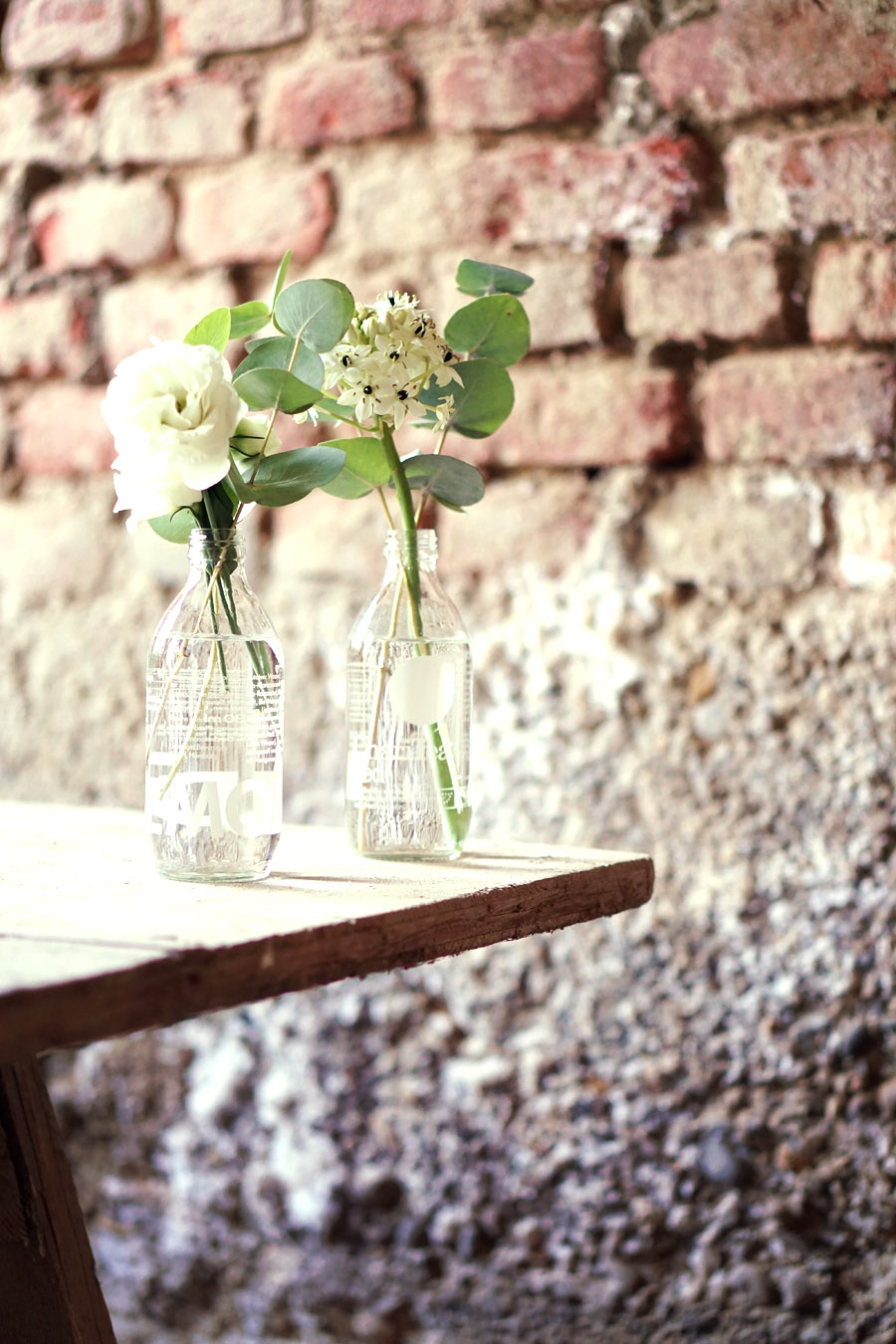 kleine Blumenvasen upcycling diy lemonaid 2