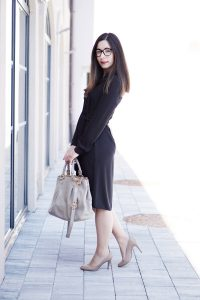 Business Basic Blusenkleid 5