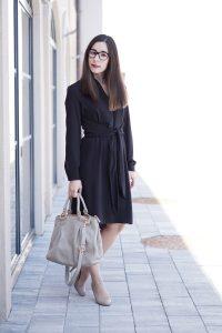 Business Basic Blusenkleid 6
