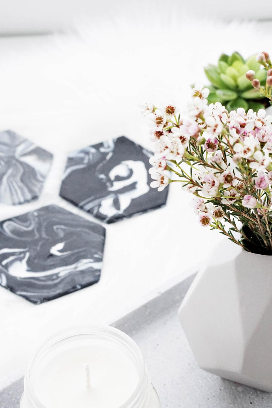 diy marmor untersetzer my mirror world. Black Bedroom Furniture Sets. Home Design Ideas