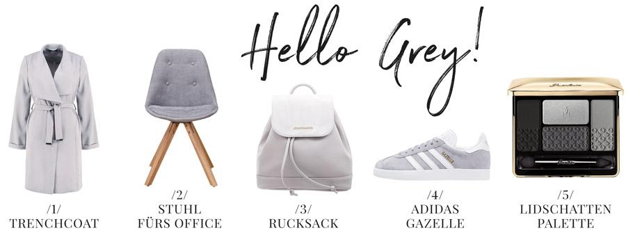 Style Inspiration Grau