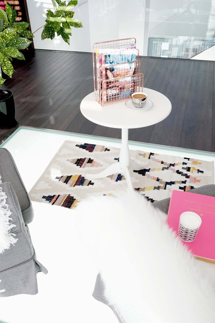 Lesezimmer Wohnzimmer Makeover 11