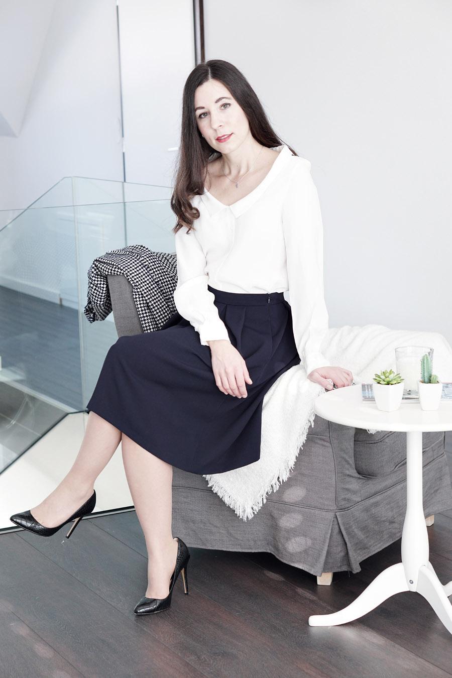 Ein Outfit mit der Zara Jacke. MY MIRROR WORLD – Modeblog Österreich.
