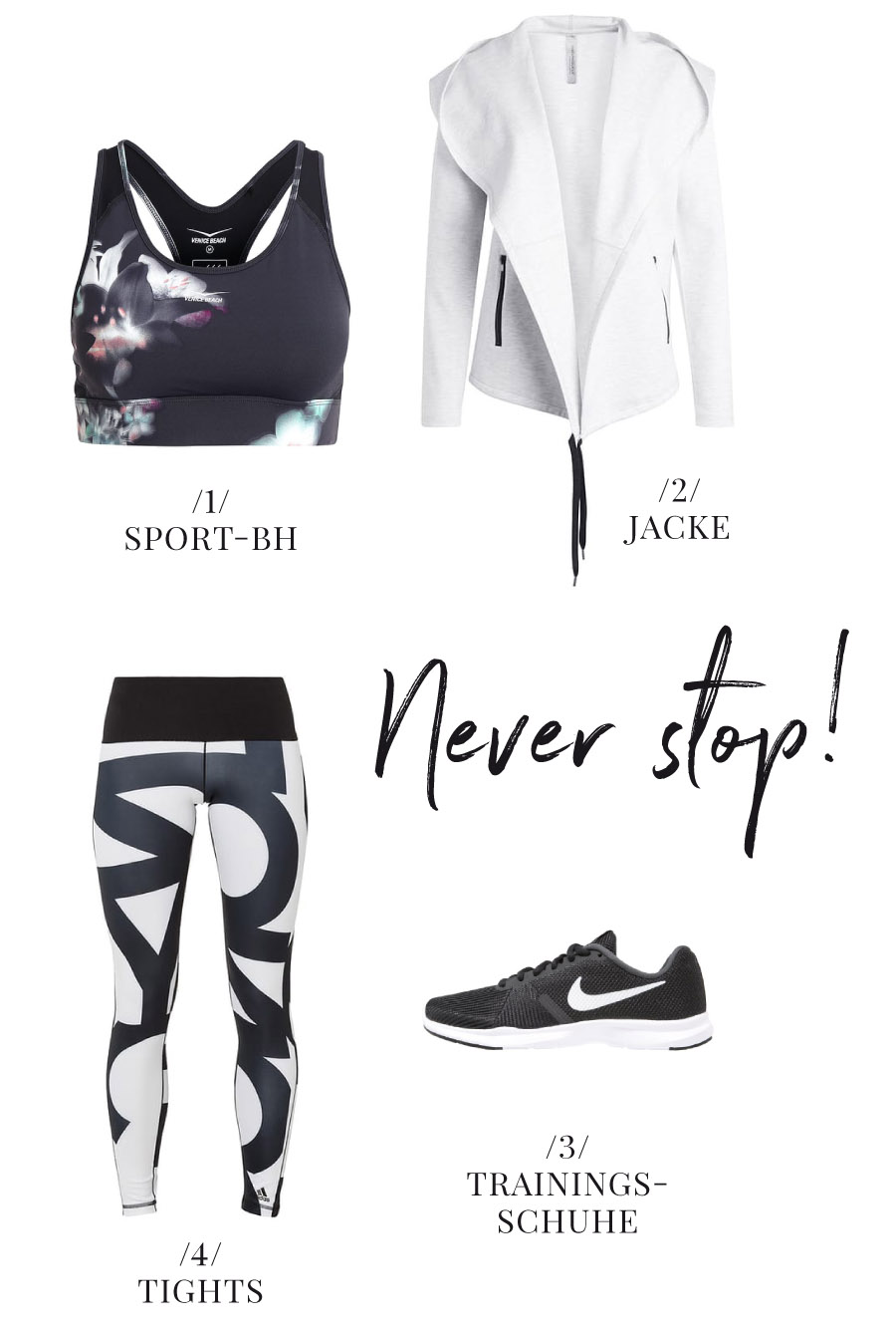 Sport Outfit fuers Fitness Studio