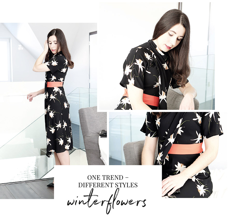 Trend Winterflowers – how to wear – Outfit