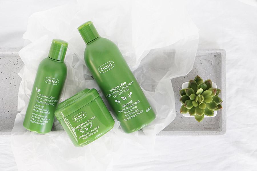 Meine Erfahrung mit der Ziaja Natural Olive Haarpflege Serie