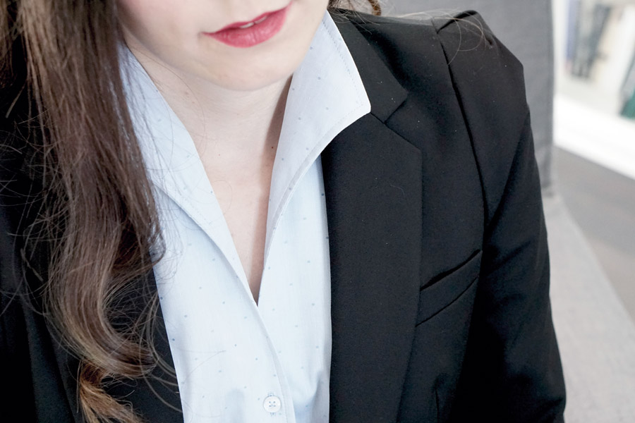 blazer und bluse