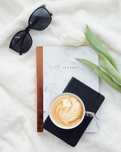 coffee flatlay