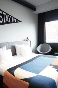 Übernachten in Amsterdam – Zimmer im The Student Hotel Amsterdam City