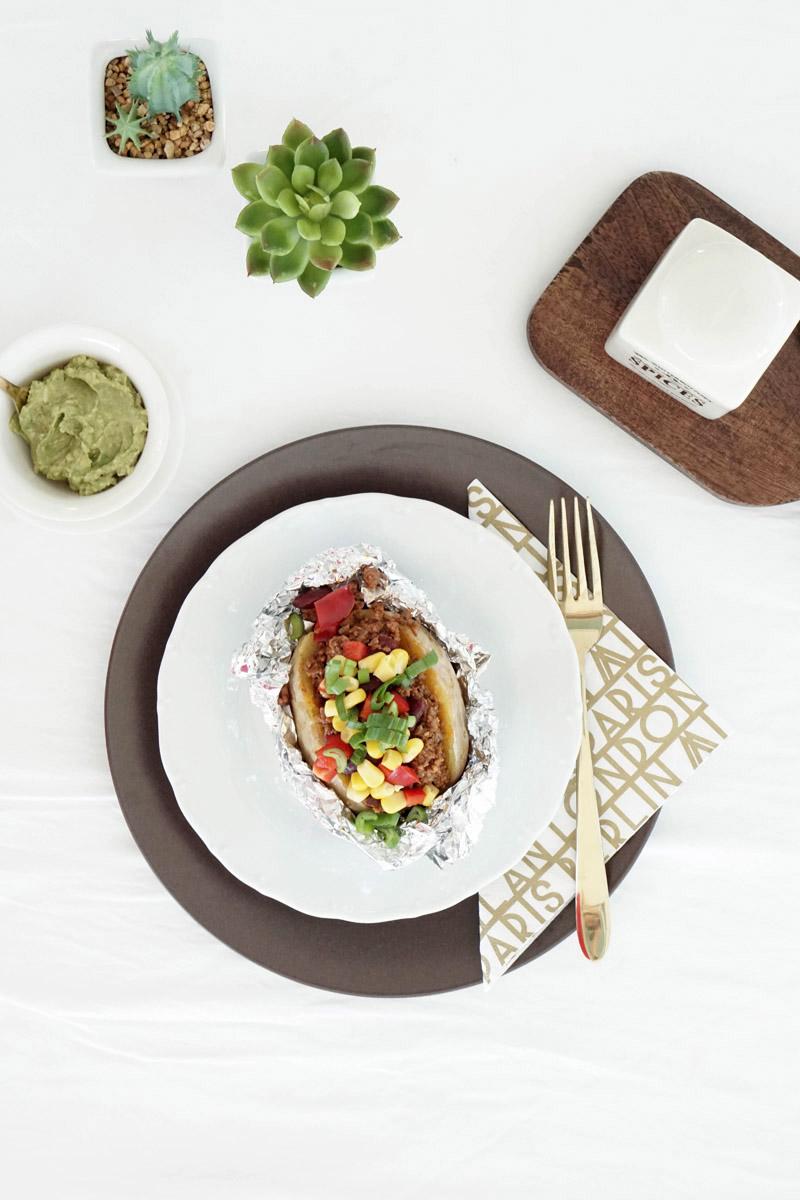 Leckeres Rezept – Taco Ofenkartoffel: Schnell und einfach gemacht
