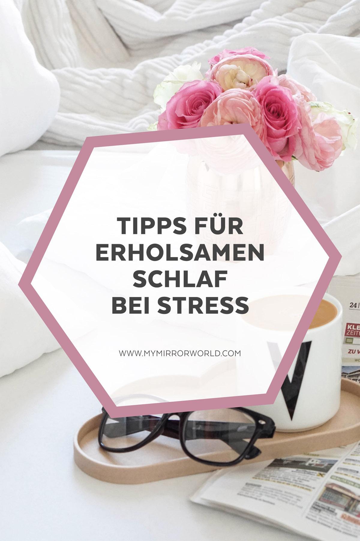 Tipps für einen erholsamen Schlaf bei Stress