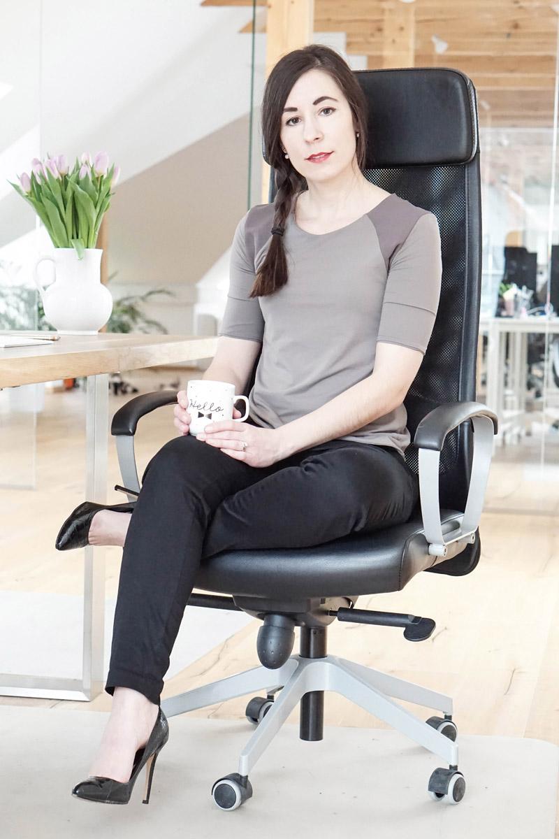 Office Outfit - Domongos Kapsel Kollektion Business Fashion