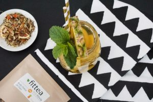 Tropical Ananas Eistee mit Fittea – selbstgemacht