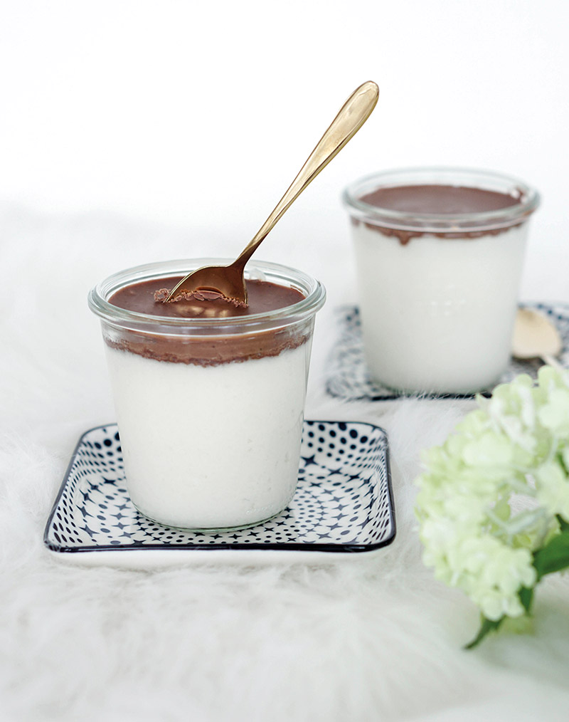 Clean Eating: Selbstgemachte Bounty Creme im Glas