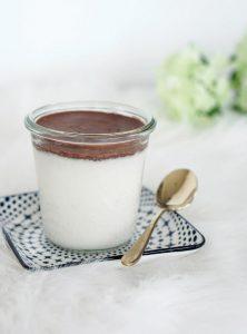 Clean Eating: Selbstgemachte Bounty Creme im Glas