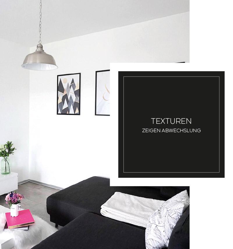 Wohnen in Schwarz-Weiß + Dekotipps | My Mirror World