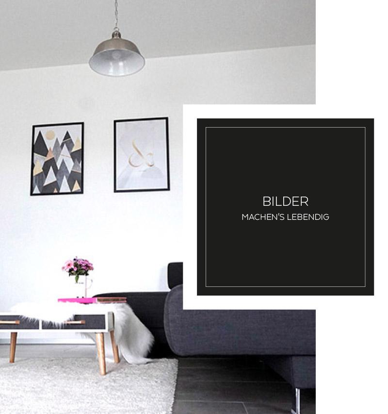 Wohnen in schwarz weiß und passende Dekotipps 11