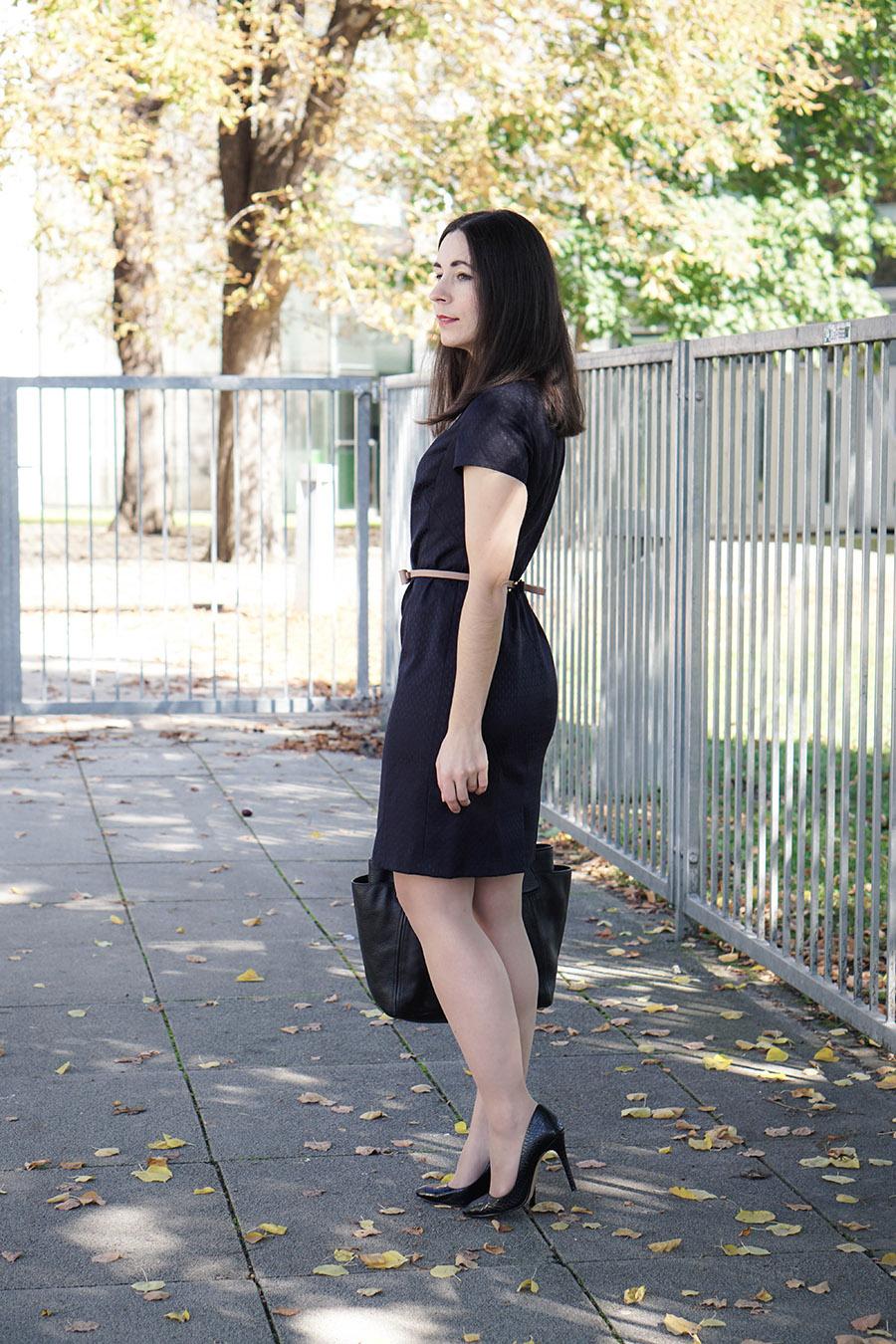 1 teil, 3 outfits: so kannst du dein etuikleid kombinieren