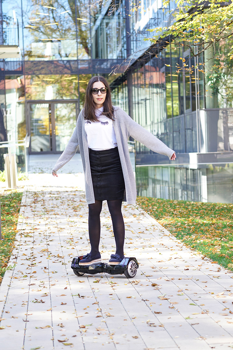 BatWings Hoverboard-von AlienBoard mit Bluetooth Lautsprecher