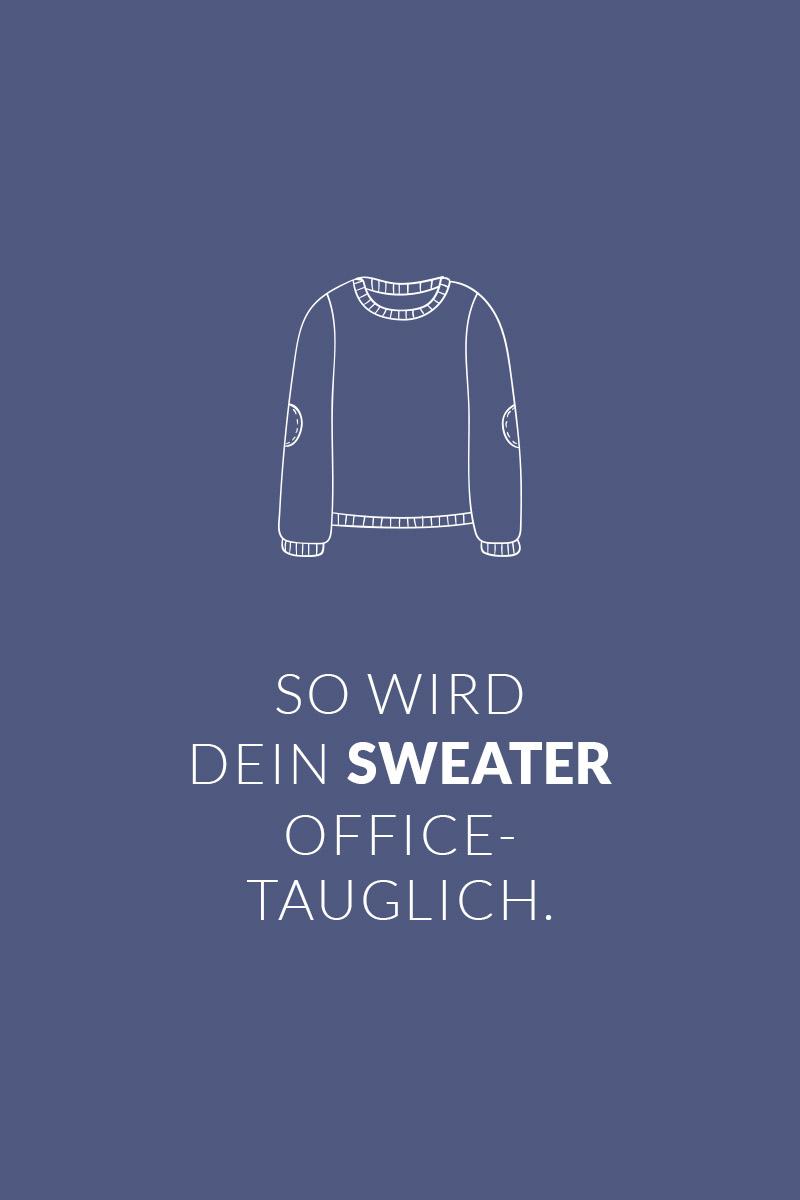 So wird ein Sweater officetauglich