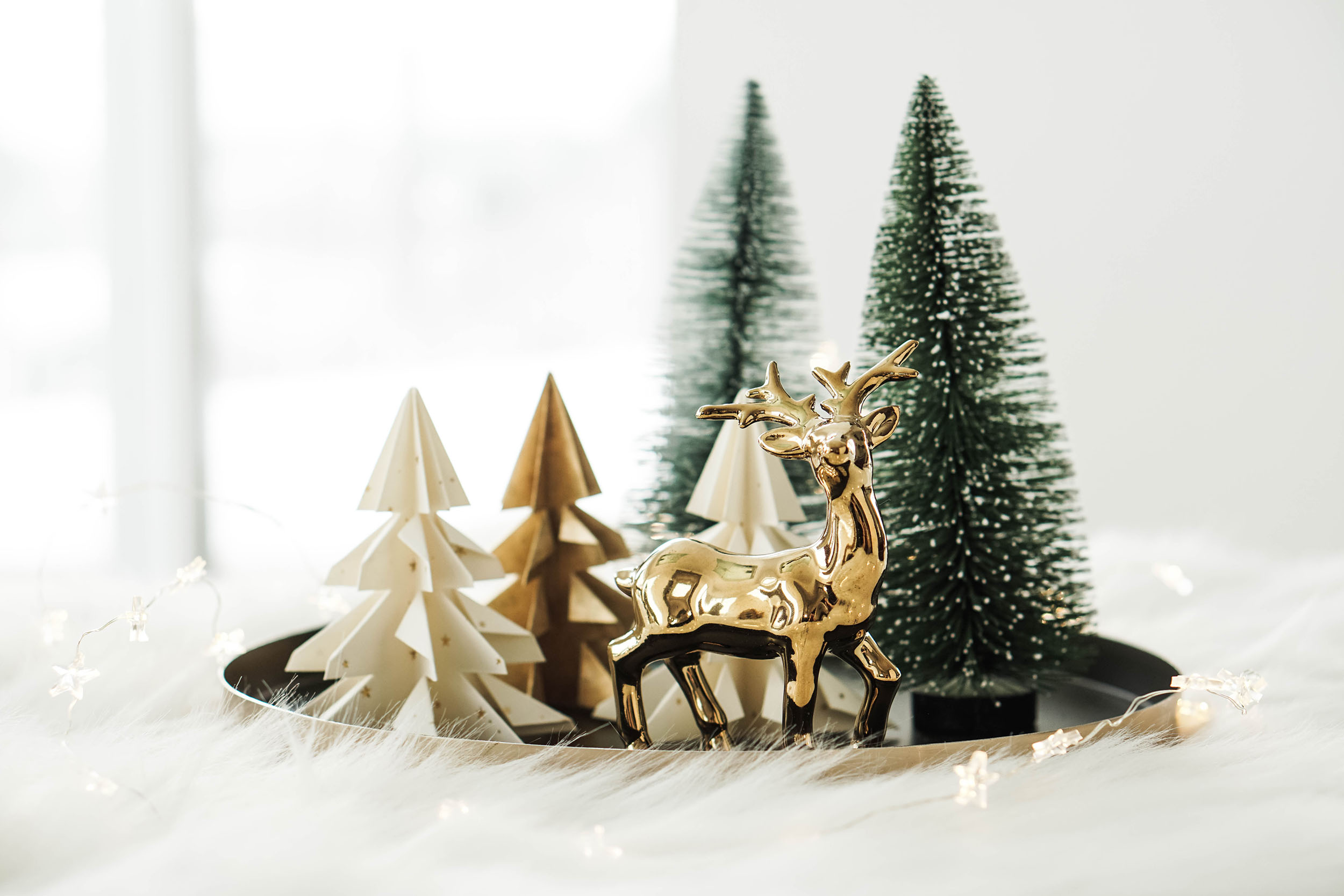 Weihnachtsdeko Diy diy weihnachtsdeko origami christbäume falten my mirror