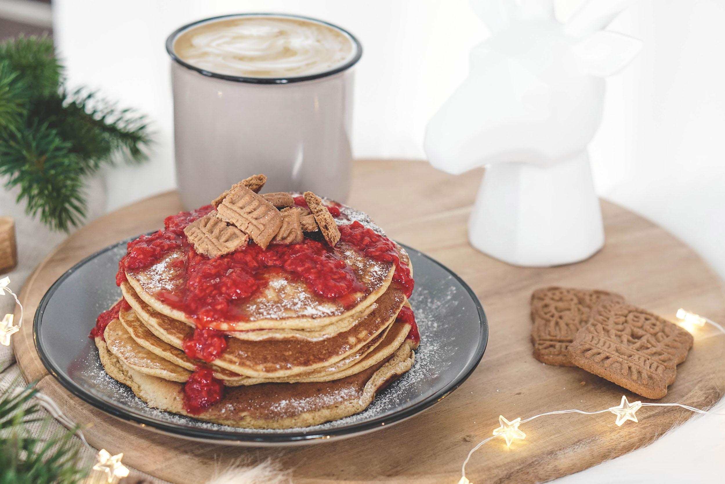 Rezept: Spekulatius Pancakes für die Weihnachtszeit | My Mirror World