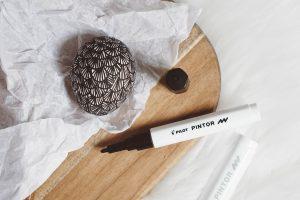 DIY Osterdeko - Ostereier bemalen mit den Pintor Stiften von Pilot – Doodle Easter Eggs