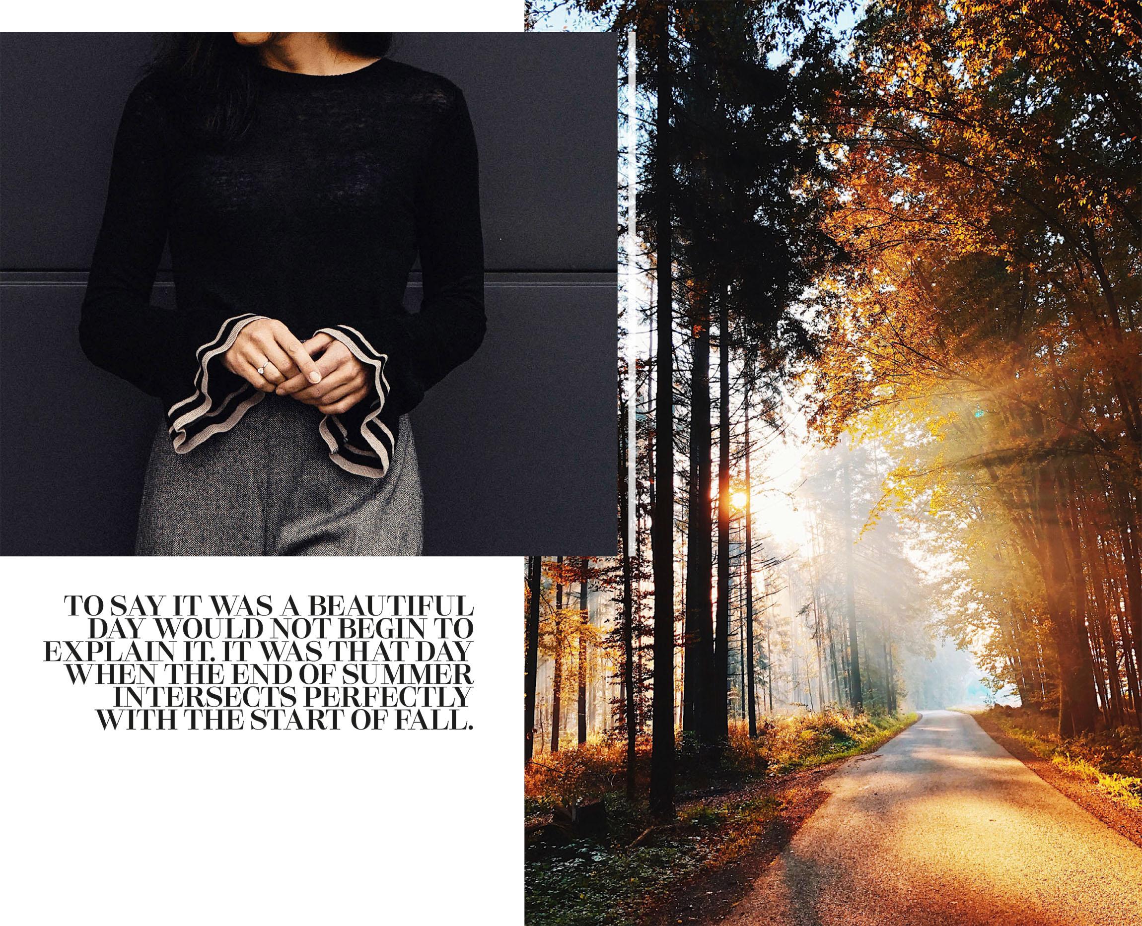 So trägt man Tweed im Herbst