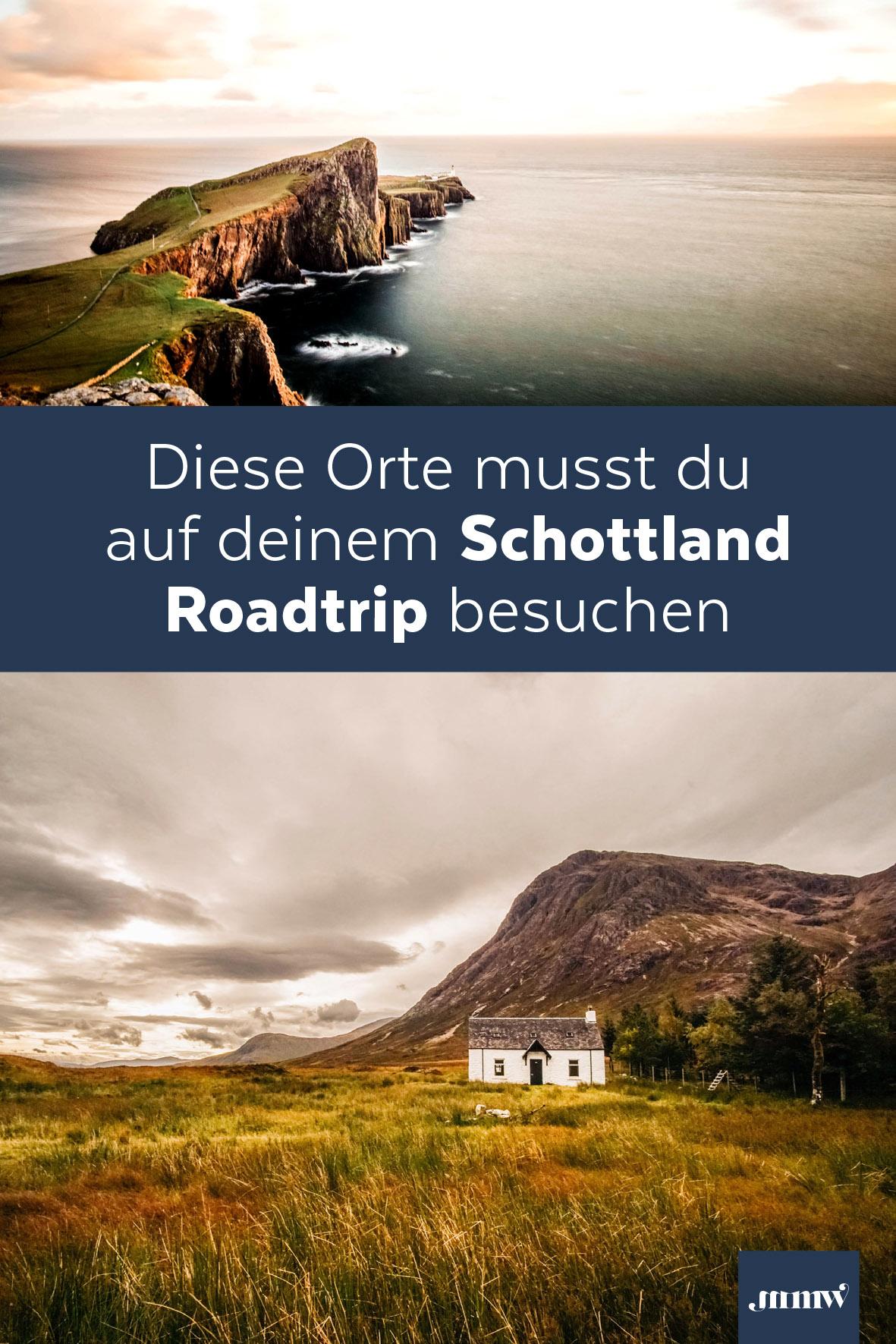 Schottland Roadtrip von Edinburgh durch die Highlands auf Pinterest