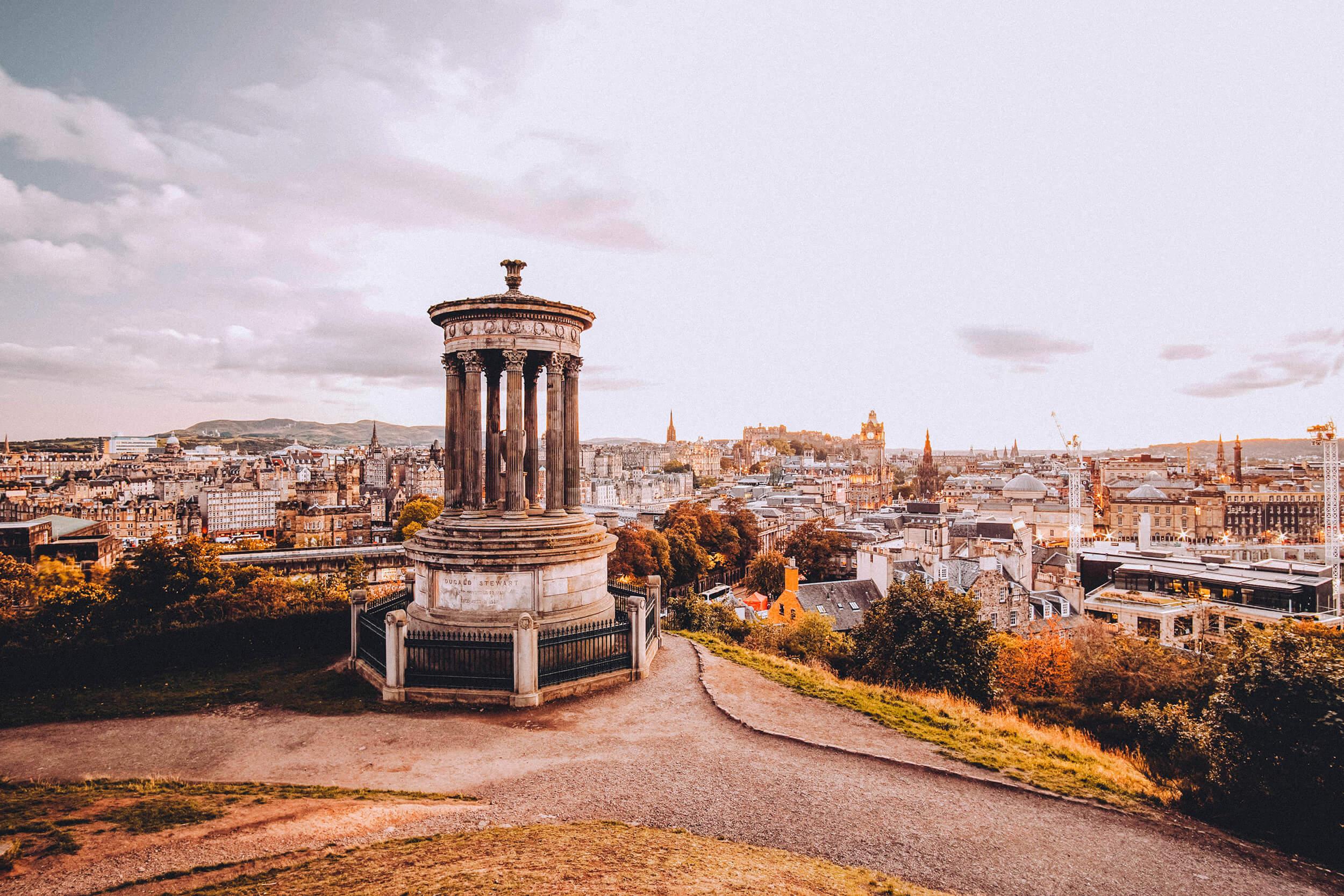 Edinburgh Tipps und Fotospots – Calton Hill