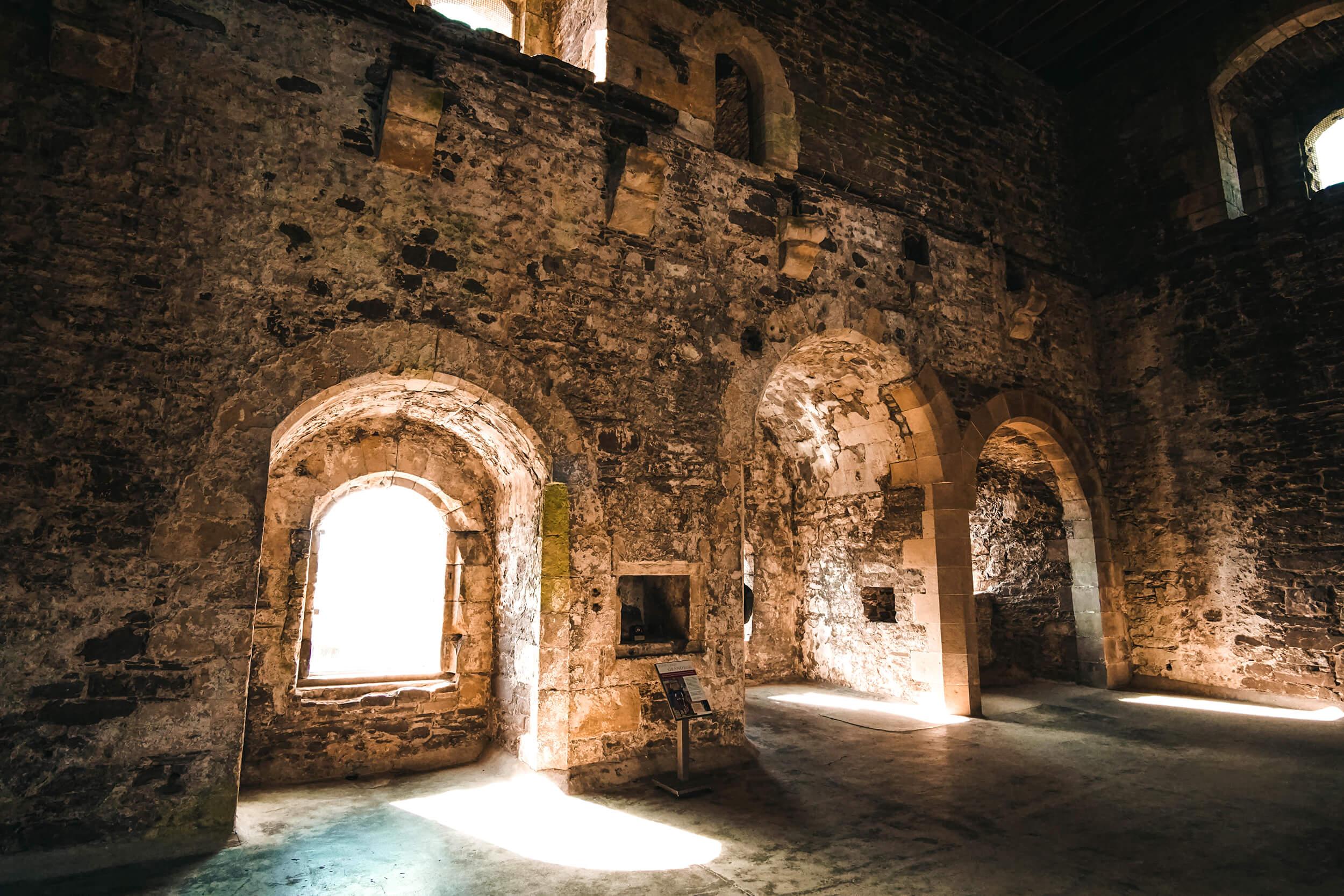 Mit dem Auto durch Schottland – Doune Castle