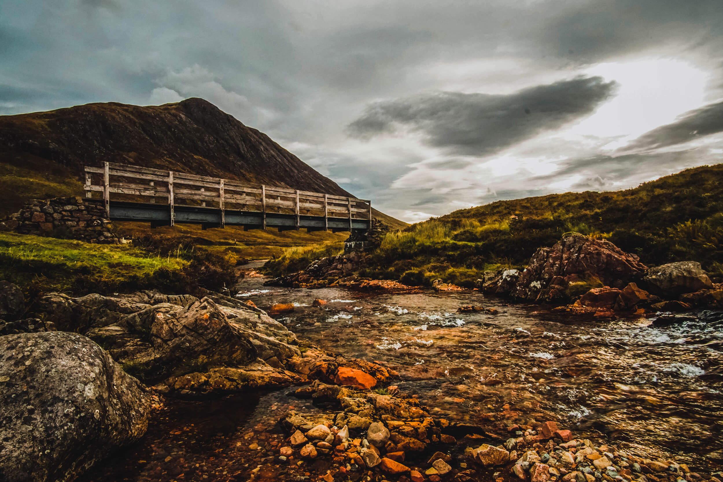Mit dem Auto durch Schottland – Glencoe und Buachaille Etive Mor