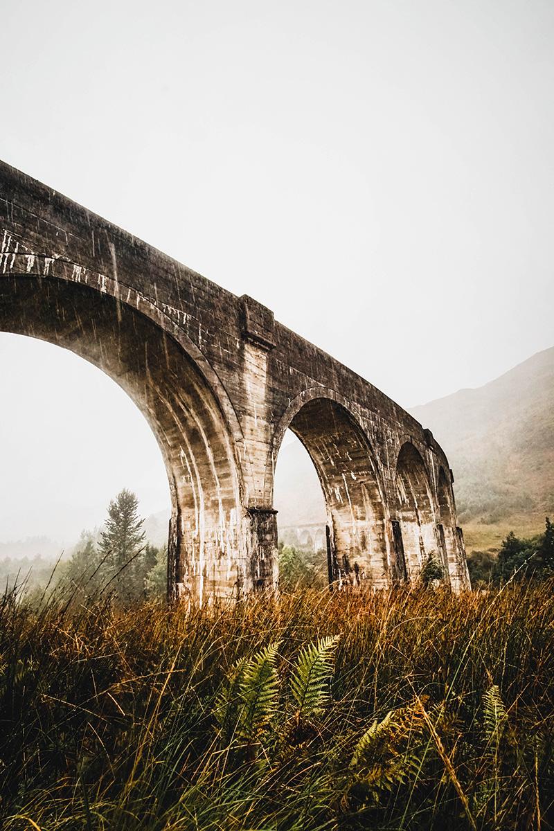 Mit dem Auto durch Schottland – Glencoe und Glenfinnan Viaduct – Harry Potter Brücke