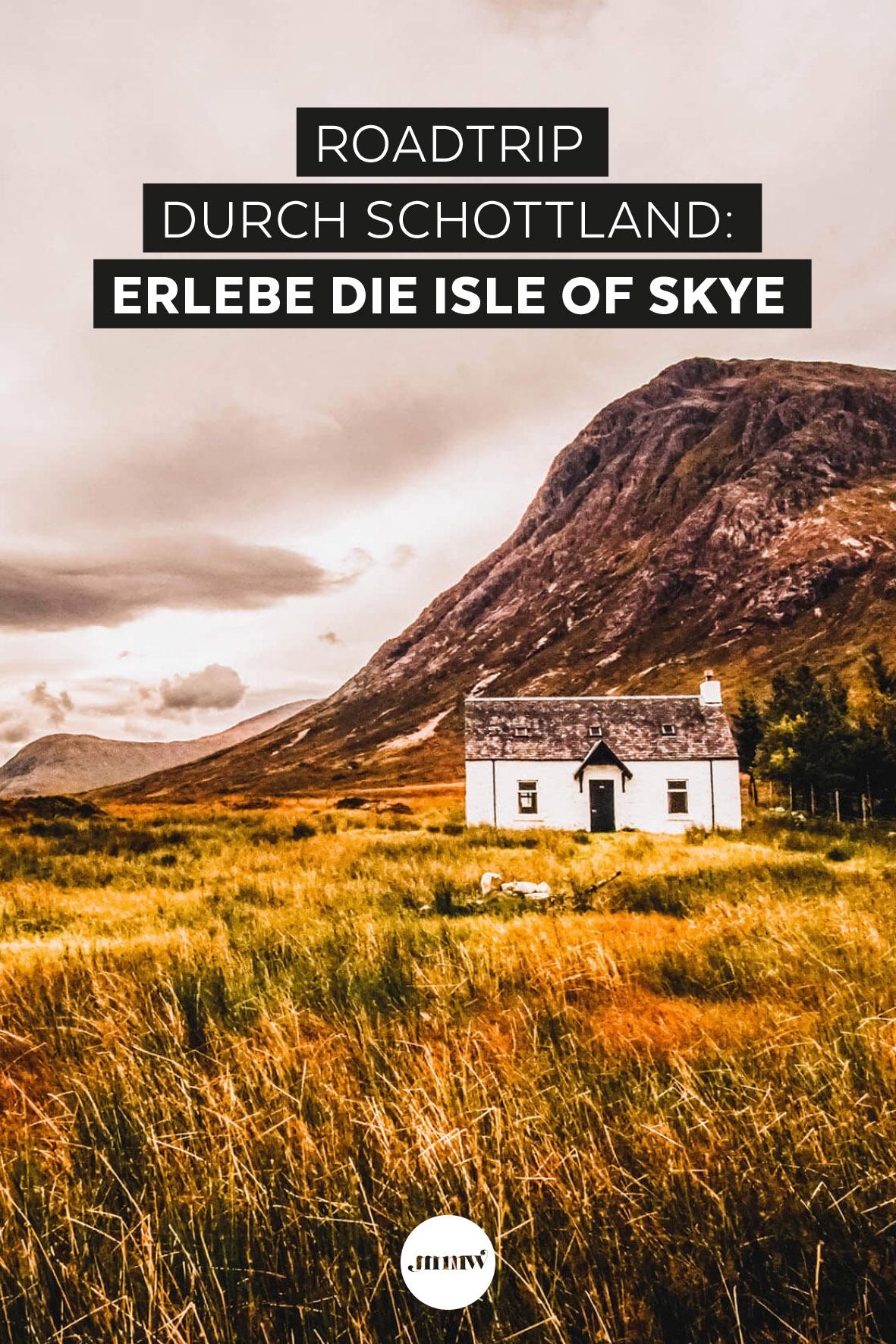 Mit dem Auto durch Schottland – Isle of Skye