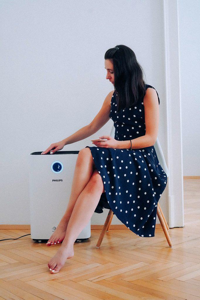 Philips Luftreiniger – die Hilfe bei einer Allergie gegen Pollen und für saubere Luft im Büro oder zu Hause